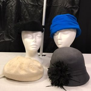 Lot/bundle vintage hats